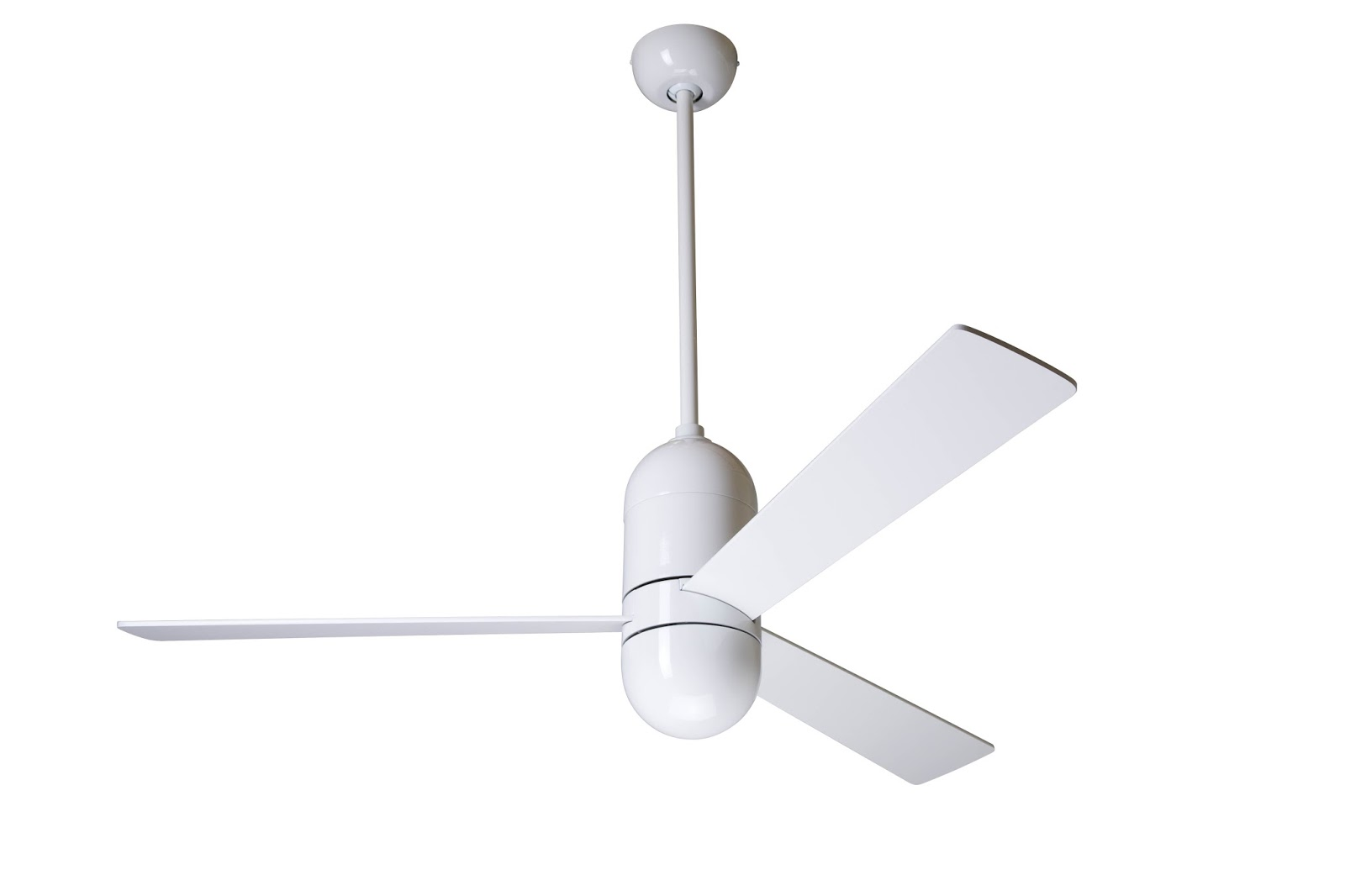 White Modern Ceiling Fan Cirrus Ceiling Fan By Modern Fan With Light
