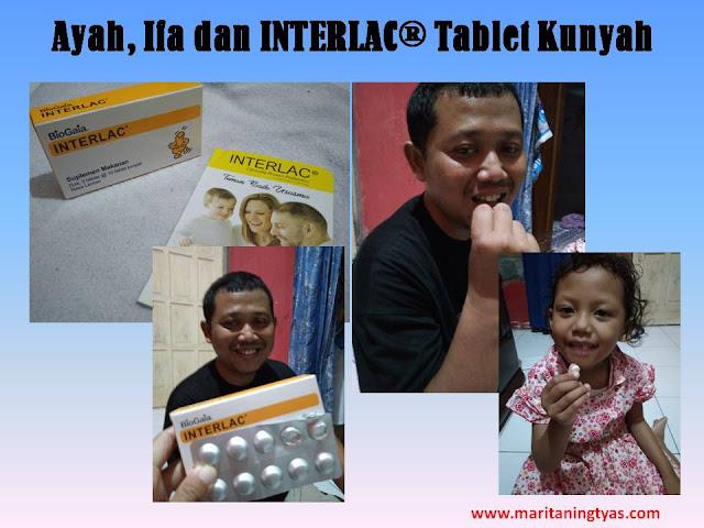 Interlac Tablet Kunyah untuk Dewasa