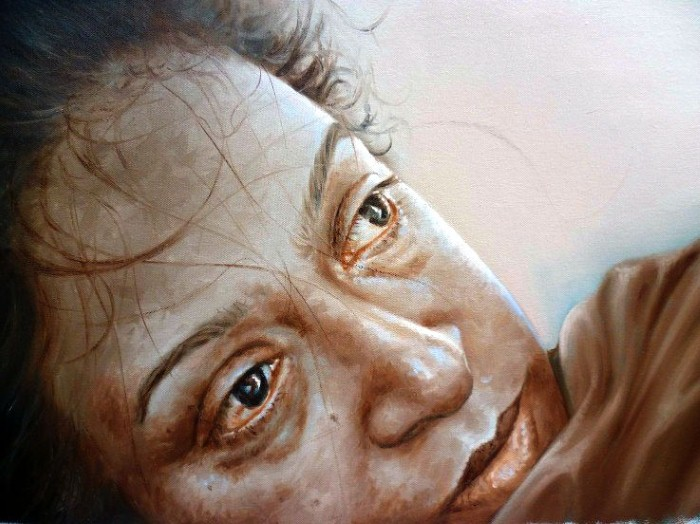 Портреты в стиле реализм. Rajasekharan Parameswaran 3