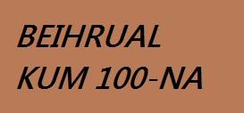 BEIHRUAL KUM 100-NA CHUNGCHANG