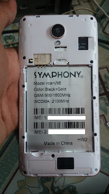 Symphony roarV95 Flash File download | Sumontelecom