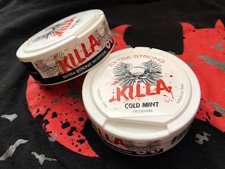 Snubie com: Killa (Cold Mint) Extra Strong Nicopods - Review