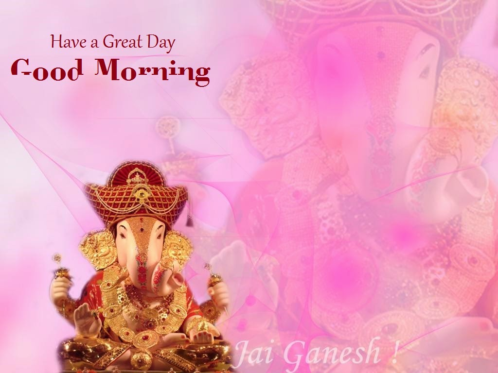 Www Hindu God Wallpaper Com Cute Ganeshji Best Ganesha Wishes Images For Fresh Good Morning