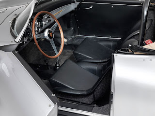 1958 Porsche 356 Speedster Convertible Interior 02