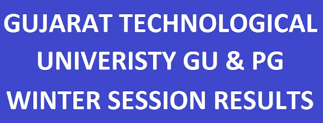 GTU UG & PG Results For Winter Session