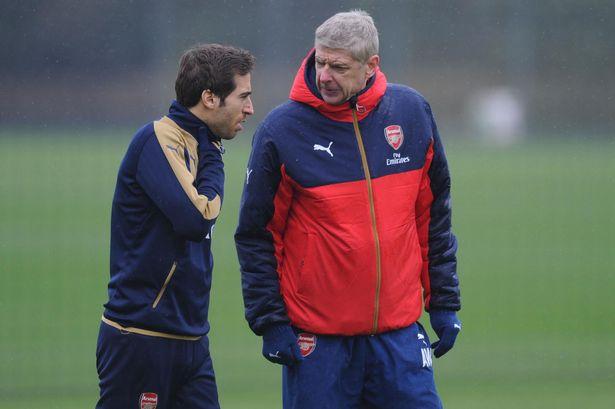 Arsenal midfielder Mathieu Flamini facing exit this summer