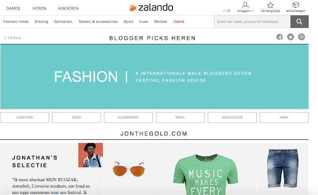 blogger jon the gold featured on zalando belgium festival corner men - mensfashion menswear festival looks style for guys antwerp accessories summer
