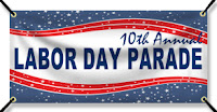 Labor Day Parade Banner
