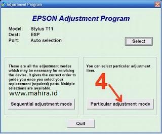 Reset Epson T11 Service Required Error Message