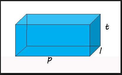Contoh Soal Matematika Materi Volume Bangun Ruang