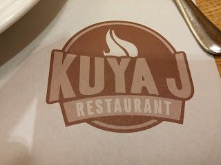 Lunch at Kuya J's