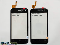 Perbedaan Touchscreen Advan S4Z vs S4Z Plus