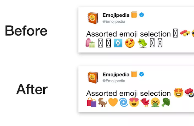 تطبيق تويتر لأندرويد يحصل على رموز تعبيرية خاصة به