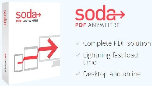 تحميل برنامج فتح وقراءة ملفات البى دى إف Soda PDF