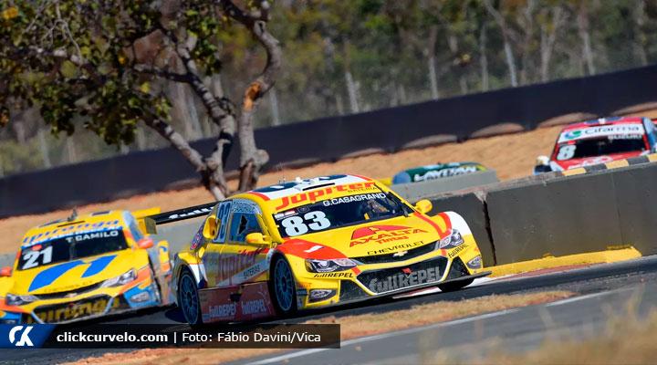 Stock Car: Felipe Fraga vence a corrida 1 em Curvelo