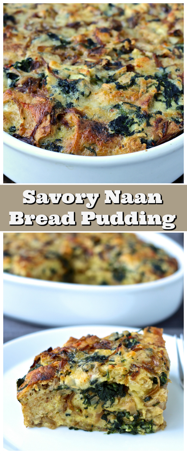 ... the Doc: Savory Naan Bread Pudding with Spinach and Caramelized Onions