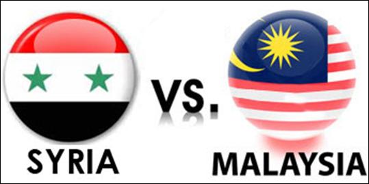 Live Streaming Malaysia vs Syria Perlawanan Persahabatan 22 Ogos 2017