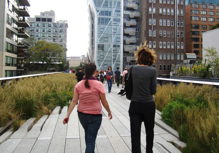 Toews Adventure: NYC: High Line, Chelsea Market & David Blaine