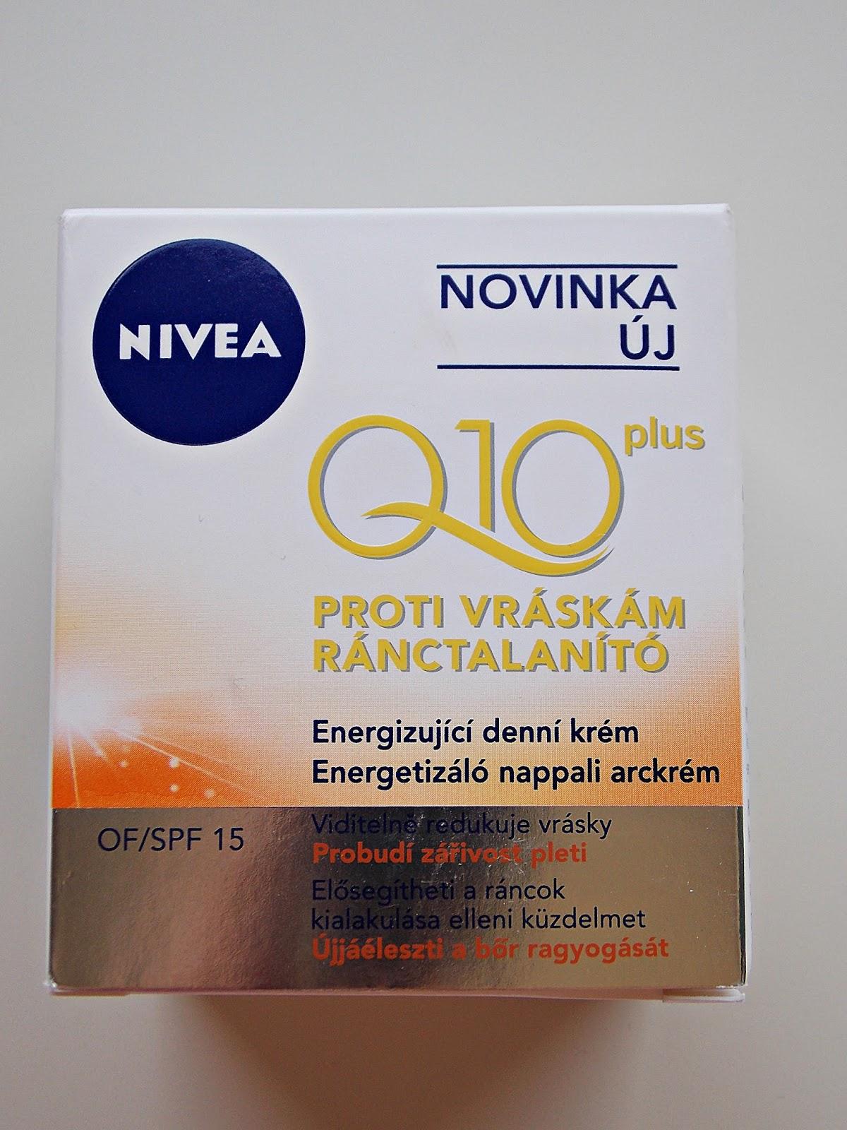 Nivea Q10 Plus ránctalanító arckrém teszt - citromhab