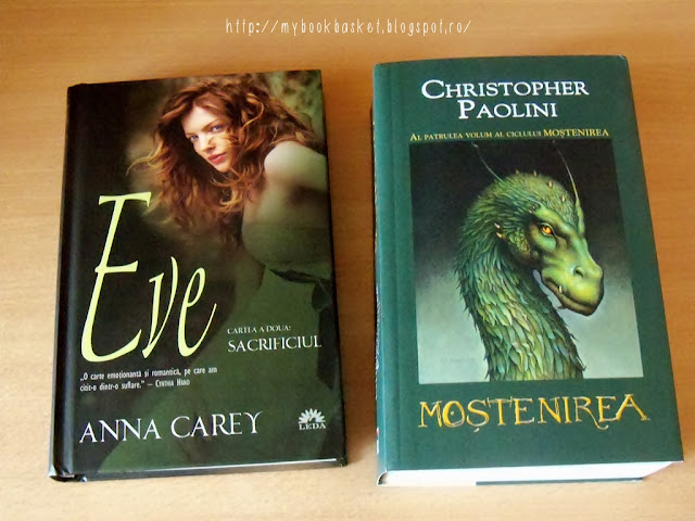 Eve de Anna Carey si Mostenirea de Christoper Paolini