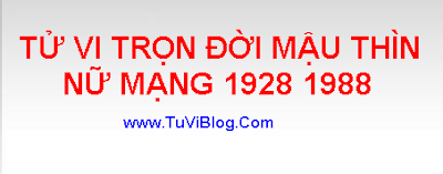 TU VI MAU THIN 1988 NU