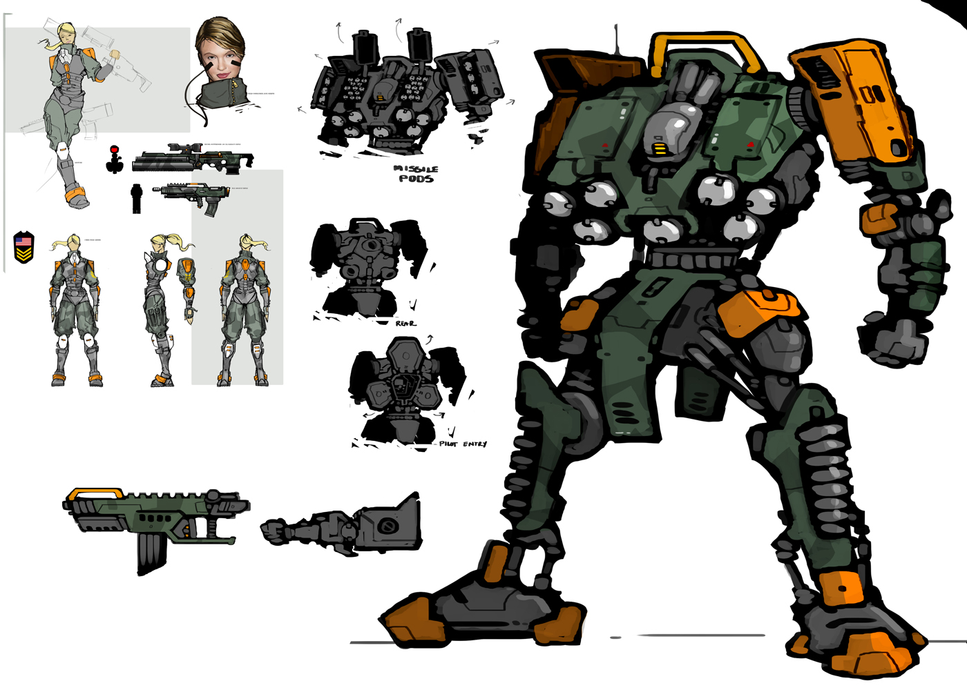 The Art Of Brandon Gillam Toy Soldiers Concept Art