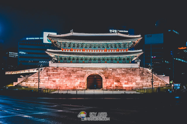 Namdemun Gate (Sungnyemun Gate) at night