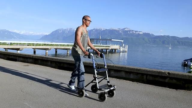 Chispa de esperanza: Una terapia de estímulos eléctricos permite a tres parapléjicos volver a andar