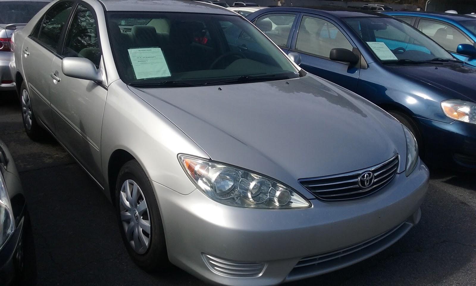 I GOT CAR DEALS : 2006 Toyota Camry 148k miles