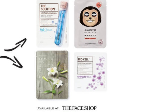 The Face Shop Free Face Masks