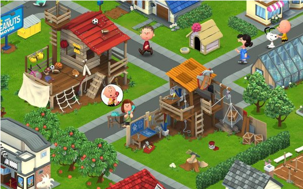 Peanuts: Snoopy's Town Tale v2.5.6 Hack Mod Apk Download