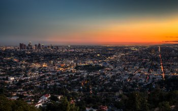 Wallpaper: Los Angeles at Dusk