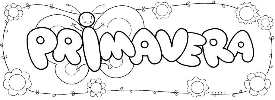 El rincn de primaria: Dibujos primavera