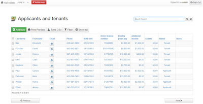 Online Rental Property Manager
