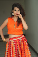 Shubhangi Bant in Orange Lehenga Choli Stunning Beauty ~  Exclusive Celebrities Galleries 005.JPG