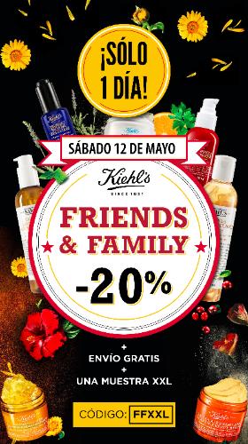 Friends & Family Day en Kiehl's: 20% de descuento!