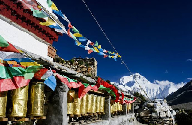On the way to Everest base camp, you will visit famous Rongbuk Monastery.