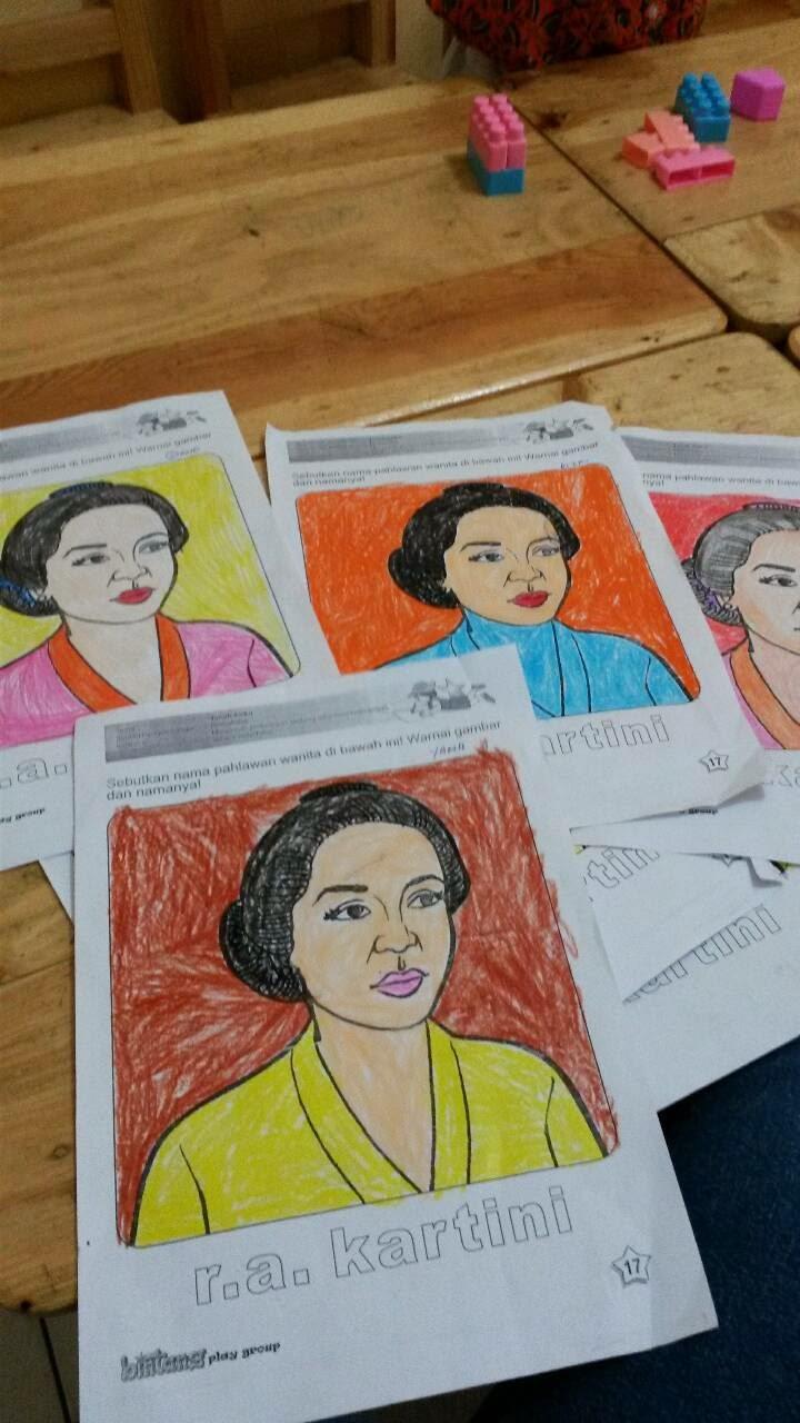 Kumpulan Sketsa Gambar Ibu Kita Kartini   Sketsabaru