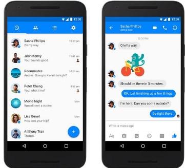 New Facebook Messenger Update
