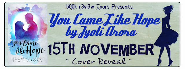 Cover Reveal Tour - You Came Like Hope