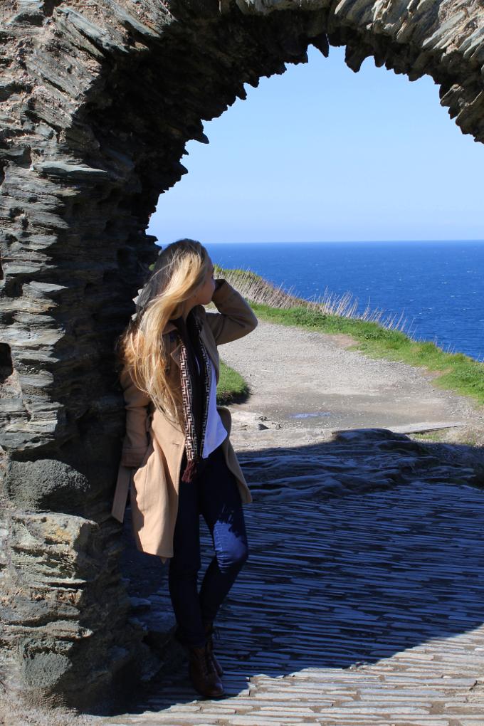 Tintagel Castel - The Wayfarer