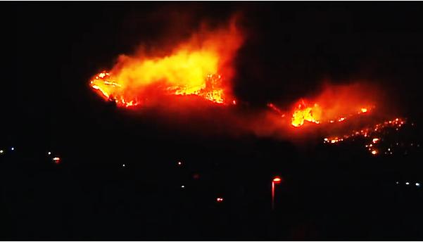 Casi dos mil vecinos de Fuencaliente desalojados, incendio La Palma