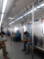 My First Hyderabad Metro Rail travel Miyapur  To Uppal