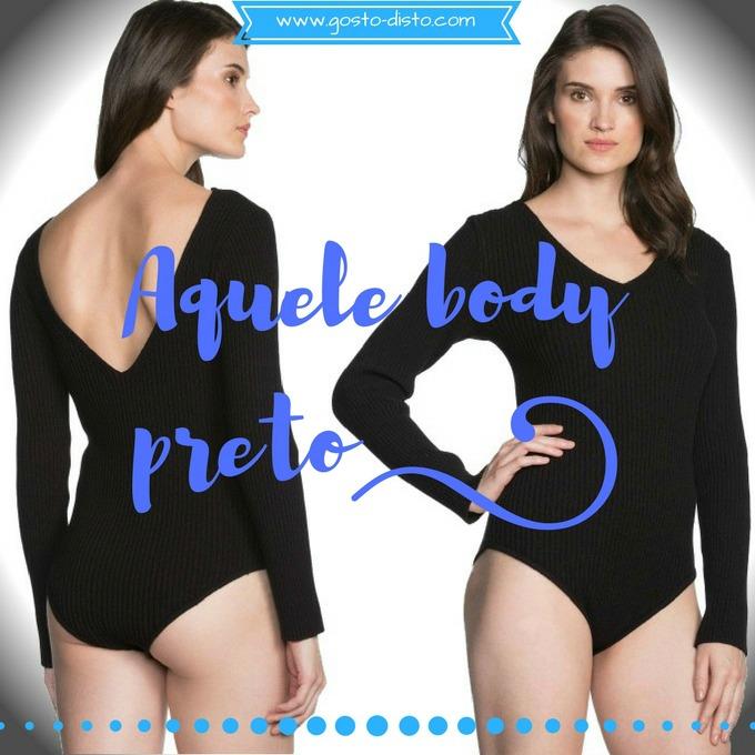 Como usar um body feminino preto e parecer mais magra