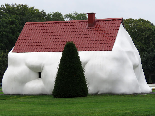 Fat House by Erwin Wurm, Upper Belvedere, Vienna