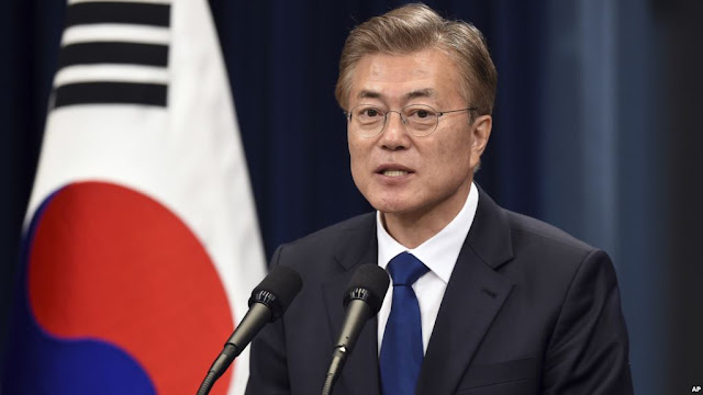President Moon Jae-in of South Korea