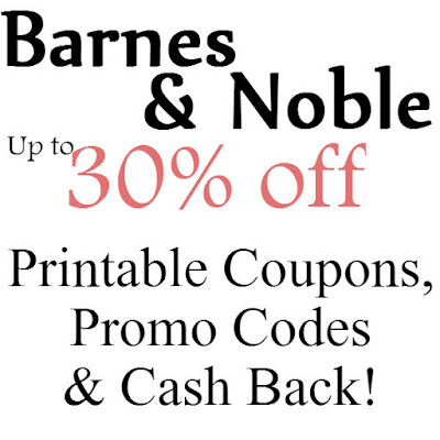 Barnes & Noble Printable Coupon February, March, April, May, June, July 2016