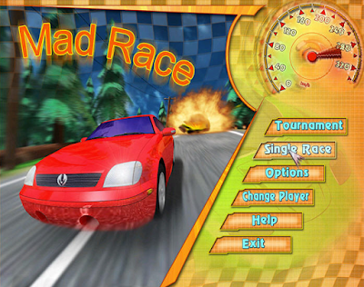Game Balap Mobil Super cepat Mad Race for PC