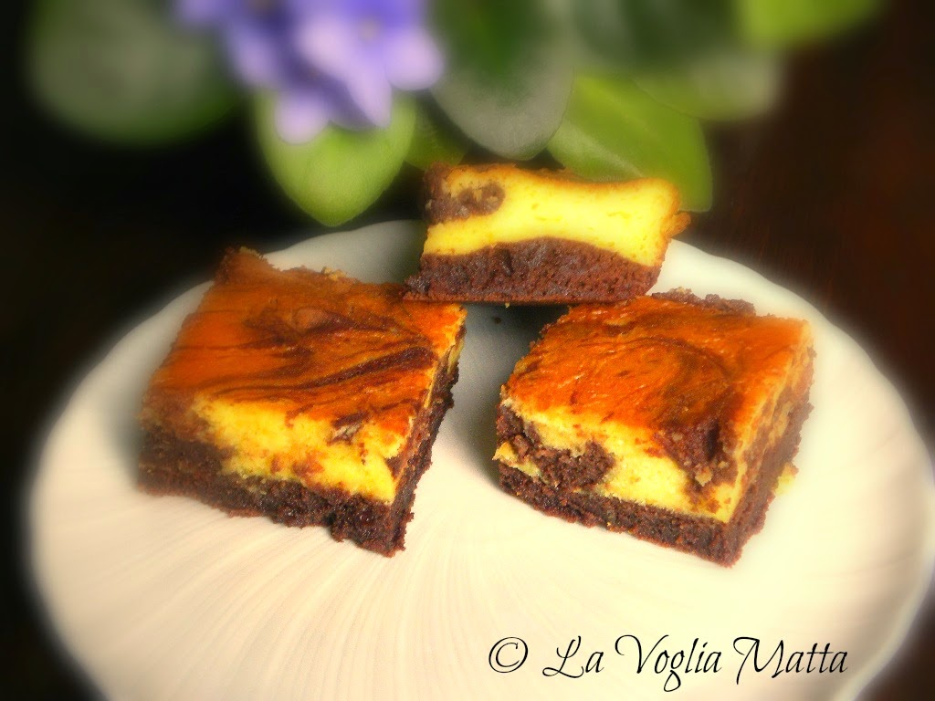 brownies cioccolato ed arancia