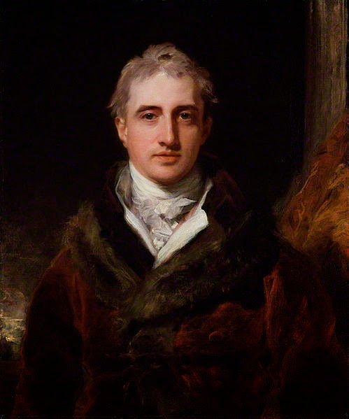 Robert Stewart, Viscount Castlereagh, 2nd Marquess of Londonderry by Thomas Lawrence, 1809-10